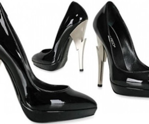 DSQUARED2: BLIKSEMS MOOIE PUMPS