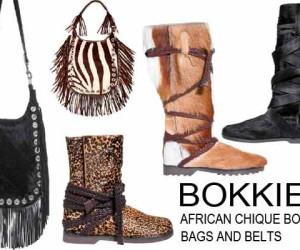 AFRICAN CHIC: BOKKIES BOOTS, BAGS & BELTS