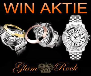 WIN AKTIE: GLAM ROCK HORLOGE !