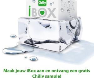 CHILLY iBOX – ONTVANG EEN GRATIS SAMPLE & WIN EEN LINGERIESETJE