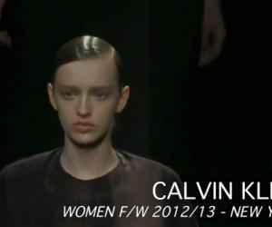CALVIN KLEIN WOMEN F/W 2012-13 NYFW