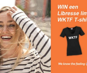 WIN EEN LIBRESSE WKTF T-SHIRT