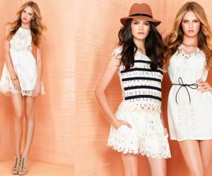 FASHION TREND ZOMER 2012: Little White Dresses