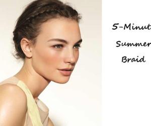 Zomerkapsels en Haartrends van Sally Brooks – 5-Minute Summer Braid