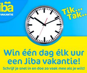 Jiba – Win ieder uur een vakantie!