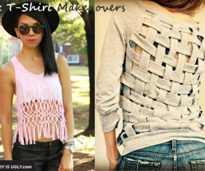 DIY: T-Shirt Make-Overs