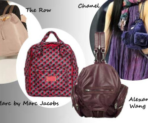 Modetrend Hot or Not? Backpacks back in fashion