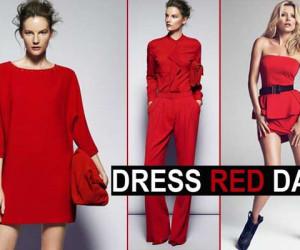 Mode Inspiratie voor Dress Red Day