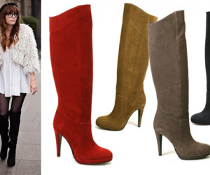 Mode Musthaves voor de winter: Overknee boots