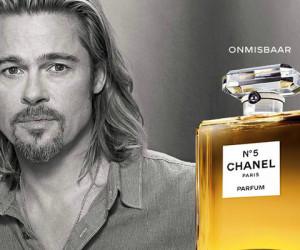 Beauty Nieuws: Chanel No. 5 commercial met Brad Pitt gelanceerd