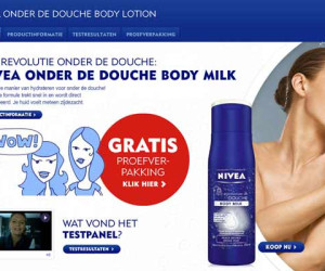 NIVEA Onder de Douche Body Lotion