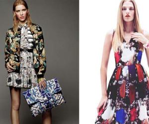 Modetrends Lente en Zomer 2013: Mix & Match Bloemenprints