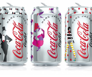 Coca-Cola light en Marc Jacobs onthullen de designs