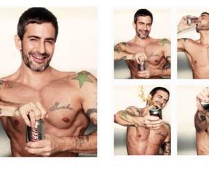 Coca-Cola light en Marc Jacobs: nog een nieuwe Coca-Cola light hunk!