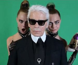 Fashion Inspiratie Video: Melissa X Karl Lagerfeld featuring Cara Delevigne