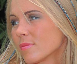 Ibiza Feathers Look: een van de hipste haartrends zomer 2013