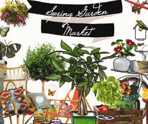Vier de Lente met de Spring Garden Market by Sissy-Boy