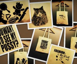 WE LOVE: canvas designer bags van Sepehr Maghsoudi