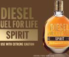 Diesel lanceert nieuwe mannengeur: Diesel Fuel for Life Spirit