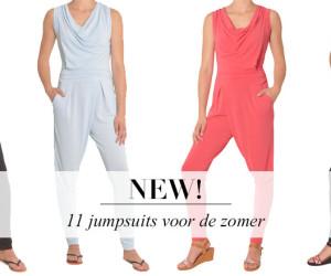 Jump de zomer in met deze jumpsuits van SevenBien