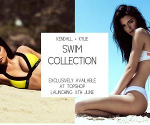 Kendall & Kylie lanceren een nieuwe swimwear lijn