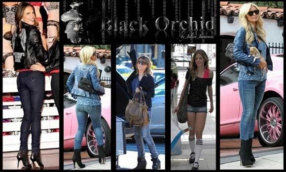 Celebrities love:Black Orchid jeans