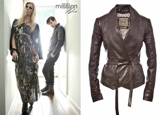 Modemerk met leren Musthaves: Mission Blue