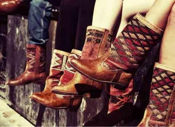 Kiboots, handgemaakte boots uit Marokko