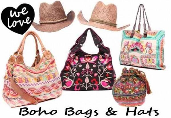 Star Mela Boho bags & Cowboy hats