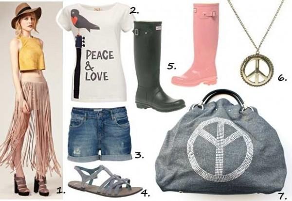 Festival Fashion - Love & Peace!