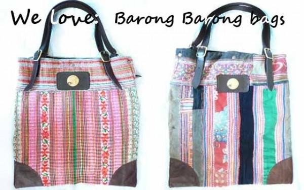 Barong Barong tassen voor een Boho summer