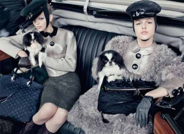 LOUIS VUITTION F/W 2011-12 CAMPAGNE