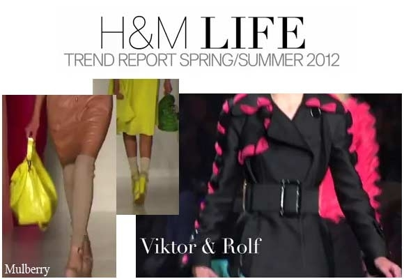 H&M LIFE: TREND REPORT SPRING SUMMER 2012