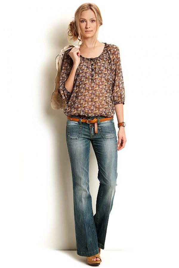 Esprit '70 geïnspireerde flare jeans