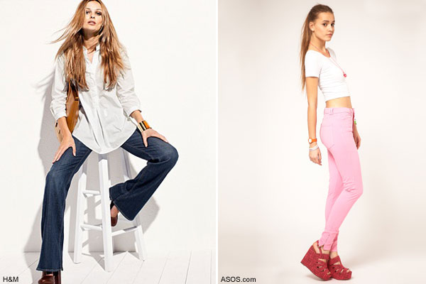 Jeans Trends  SS 12