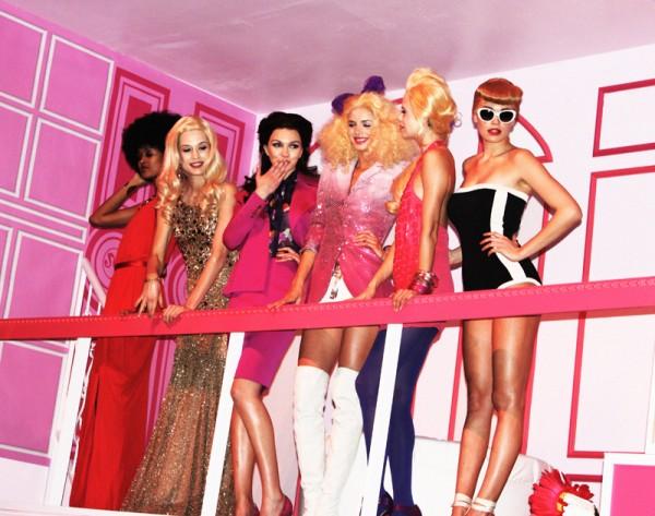 Barbie's at Barbie's Dream Closet