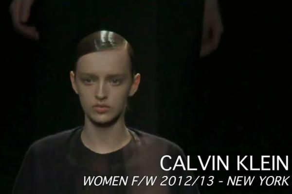 Calvin Klein Women F/W 2012/12 - NYFW