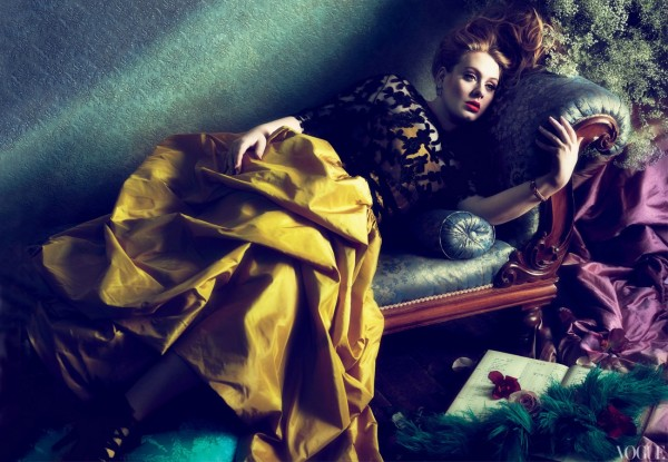 Adele in de Amerikaanse VOGUE 2