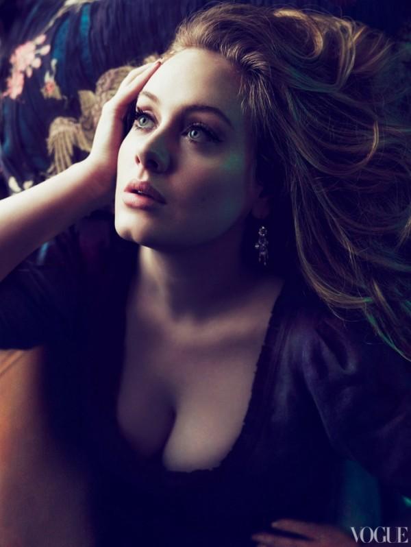 Adele in de Amerikaanse VOGUE 5