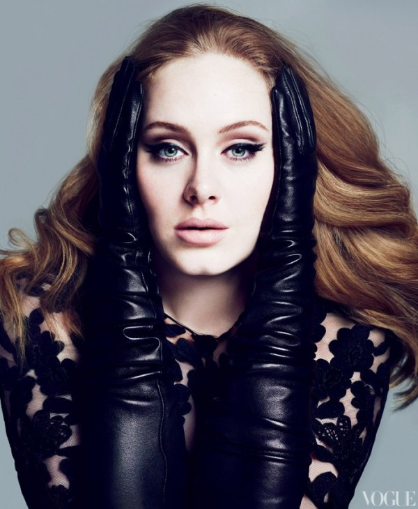 Adele in de Amerikaanse VOGUE 7