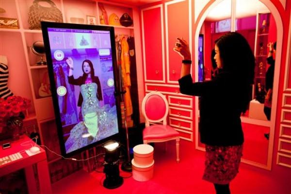 Barbie's virtuele wardrobe
