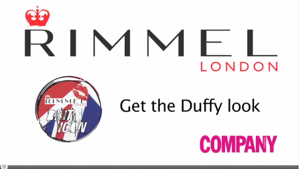 Make up : Rimmel London - Get the Duffy look