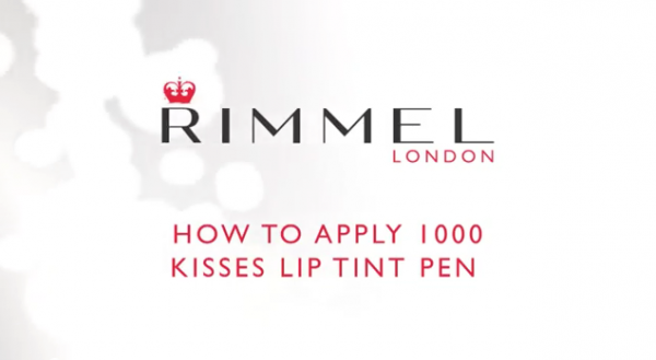 LIP TINT TUTORIAL BY RIMMEL LONDON