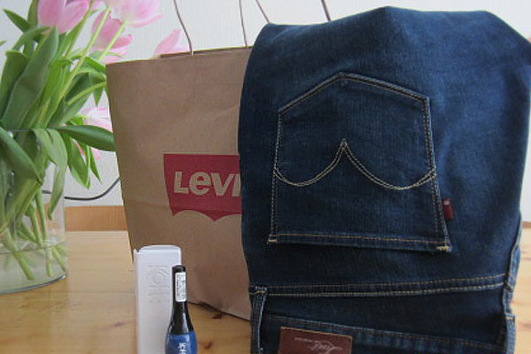 Levis Curve ID & Matching Jeansblauwe nagellak