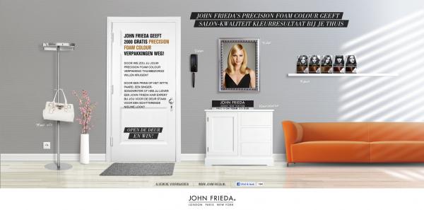 Klik hier en ga naar de JOHN FRIEDA - Precision Foam Colour site