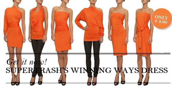 SuperTrash Winning Ways Dress - 1000 Ways To Wear