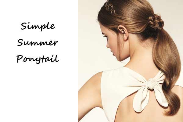 Nivea Zomerkapsel: Simple Summer Ponytail