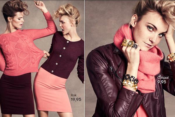 Modekleuren H&M Herfst Winter 2012 2013