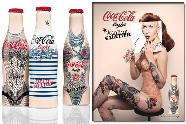 Coca-Cola light by Jean Paul Gaultier