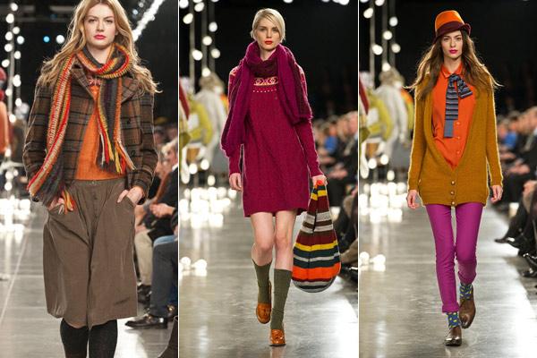 Modekleuren Benetton Herfst Winter 2012 2013